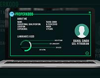 Properkodo Web App | UI Design