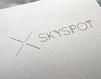SKYSPOT logo concept