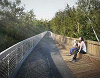 Footbridge, Busko Zdroj