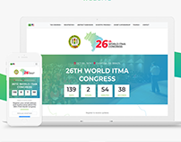 26th World ITMA Congress - Identity & Website Design