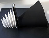 Kelli Anderson's pop-up paper speaker