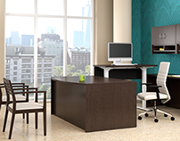 3D Office Interiors and Furniture by Animated Vision