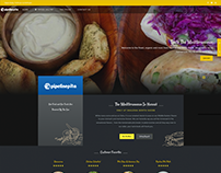 Pipeline Pita Food Truck Website Design
