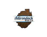Adirondack Blue Co Logo Design