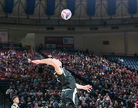 Liberty University Midnight Volleyball