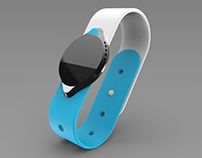 Security bracelet with biometrics