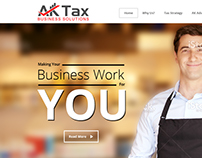 AK tax web design