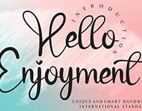 FREE | Hello Enjoyment Font