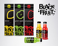 Black Fruit - packaging and logo design