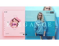 Ecommerce Fashion UI Concept