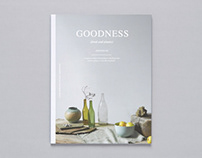 Goodness Magazine (concept)