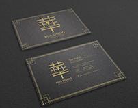 Logo & Graphic Design for HUA STUDIO Business Card