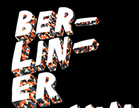 Poster U-Bahn theme