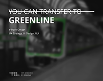 You can transfer to GREENLINE