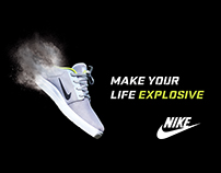 Hypothetical advertising for Nike