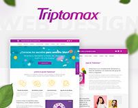Triptomax web design