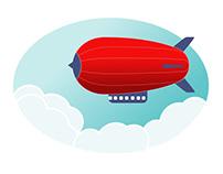 Zeppelin - Art practice in Affinity Designer