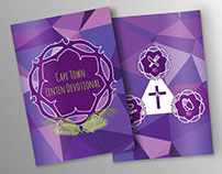 Editorial Design: Lenten Devotional booklet & poster