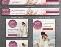 Destination Weddings Banner Ad Designs