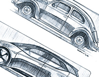 Volkswagen Illustrations - for MIAS 2018