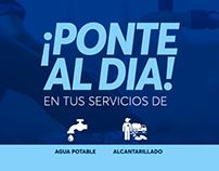 Campaña de condonación de deudas Aguas de San Pedro