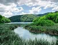 Plitvice Lakes by Matúš Pastor