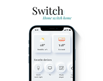 Domotic mobile app