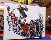 jr NBA Live Drawingperformance /NBA ASIAin Malaysia