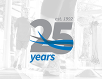 SilverSneakers 25th Anniversary Logo