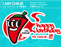 #009 I AM CHILIE ONE YEAR OLD「椒鹽壹歲」.