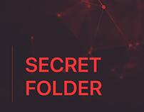 Secret Folder - iOS App