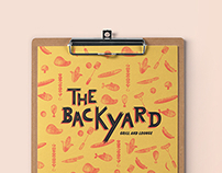 The Backyard - Menu Design