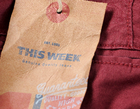This Week Jeans ® | Labels and Buttons