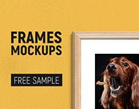 Free Mockup Sample - 10 Frames Mockup