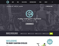 Ruby Canyon Cycles website design