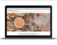 Legumbres Argentinas || Web Design & Wordpress