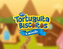 Landingpage - Tortuguita Biscoitos 2016