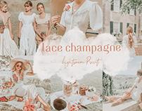Lace Champagne Lightroom Preset