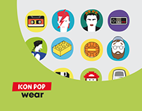 Ux / UI Design - Icon Pop Wear