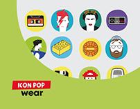 Ux / UI Design - Icon Pop Wear