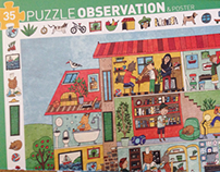 Puzzle Observation for Djeco