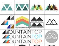 Logo Sketches - Mountain Top