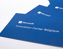 Microsoft Innovation Center Visit Cards