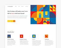 Creative Design Agency website design & Interaction