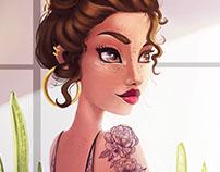 Bellezas ilustradas