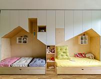 Apartment in Elemag St. / interior&furniture design