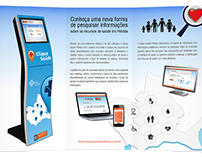 Advertisement - Clique Saúde - Health Platform