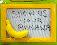 Desk Prank - Going Bananas