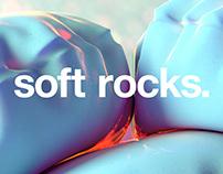 soft rocks.