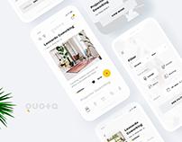Quota. Coworking App